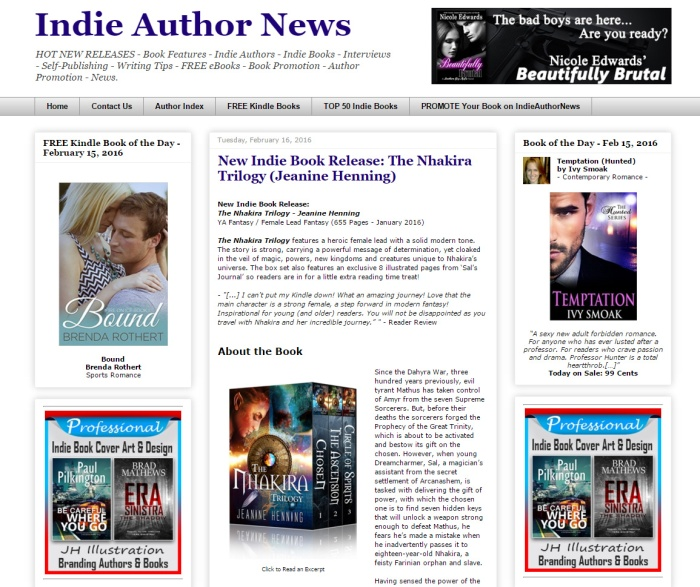 IndieAuthorNews